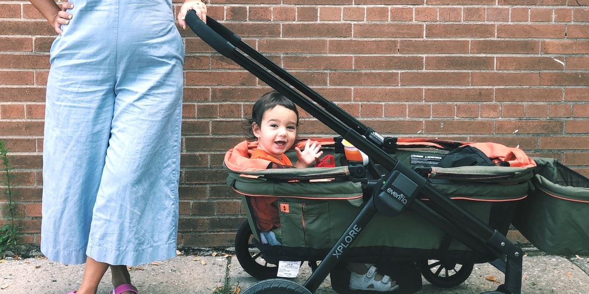 This stroller wagon will make family outings *so* much easier