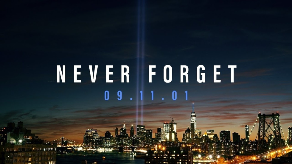 Partner Content - SEPTEMBER 11th TRIBUTE: Never forget 9/11