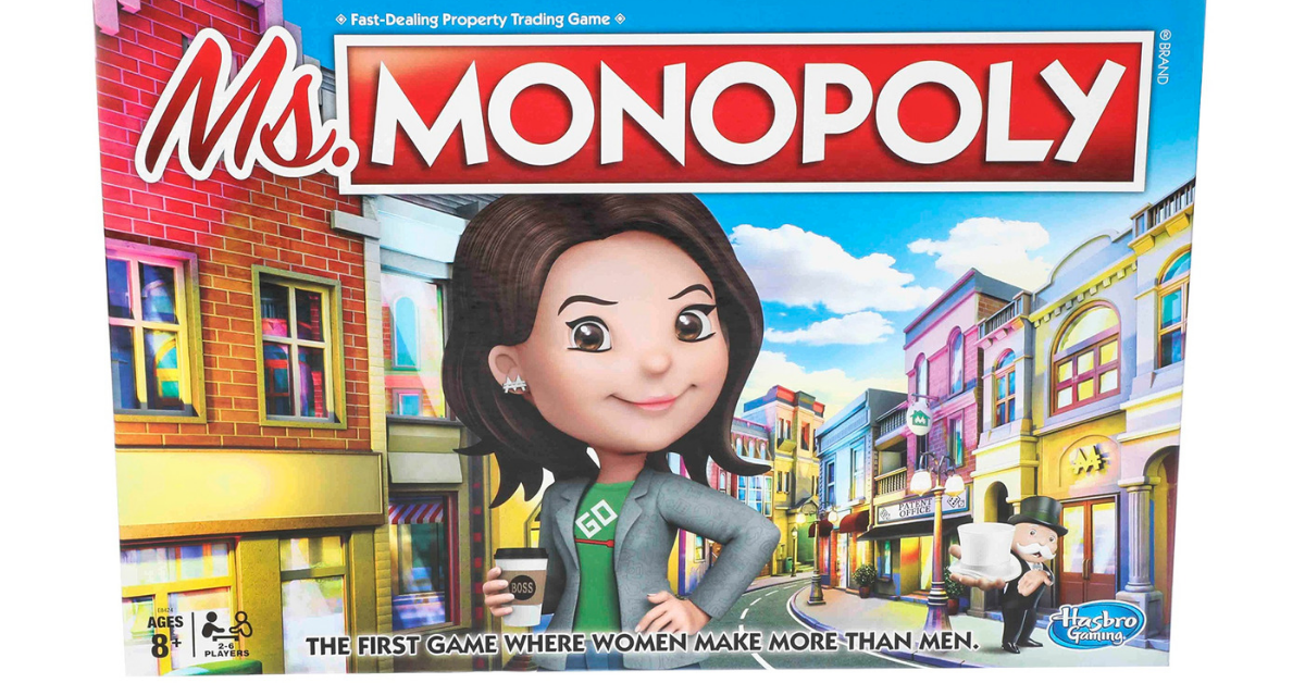 New 'Ms. Monopoly' Game Features Rules Where Women Make More Money Than Men