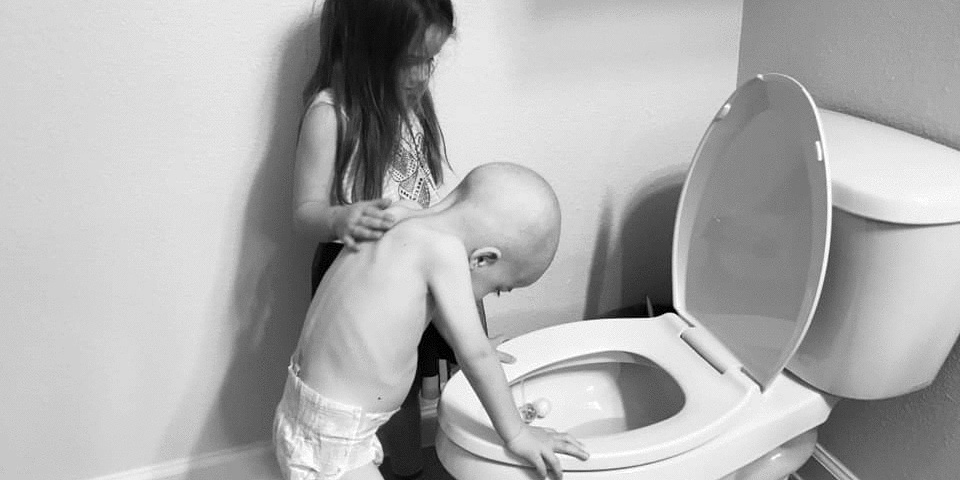 This mama's honest post about childhood cancer is going viral and it's heartbreaking