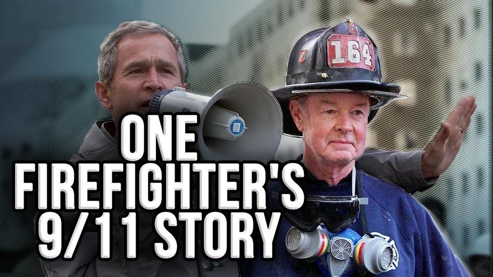 Partner Content - BOB BECKWITH: Experiencing Bush's 9/11 Bullhorn Speech Firsthand