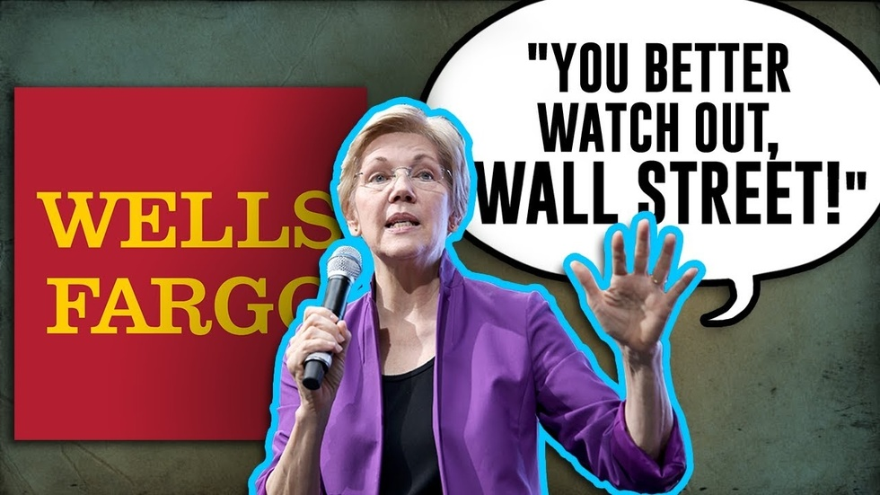 Partner Content - Elizabeth Warren threatens Wells Fargo, Wall Street after Jim Cramer ana...