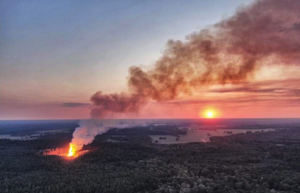 Fracked Gas Well Blowout in Louisiana Likely to Burn for the Next Month
