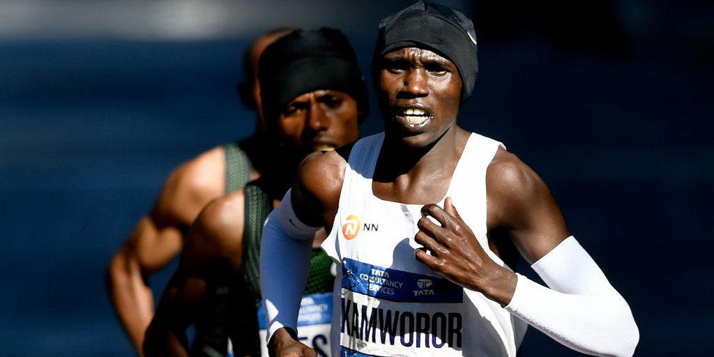 Kenyan Athlete Geoffrey Kamworor Broke the Half Marathon World Record