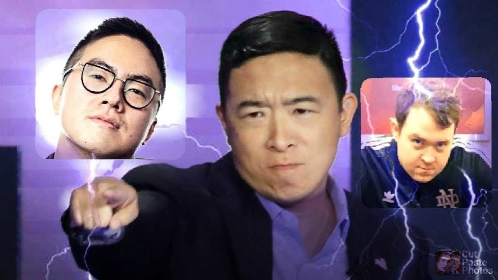 """Andrew Yang's Tweets to Shane Gillis and Bowen Yang Is the Best """"SNL"""" Skit in Years"""