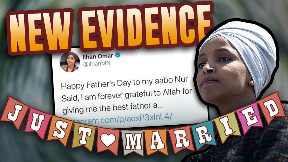 Partner Content - NEW Twitter evidence shows Ilhan Omar likely married her brother