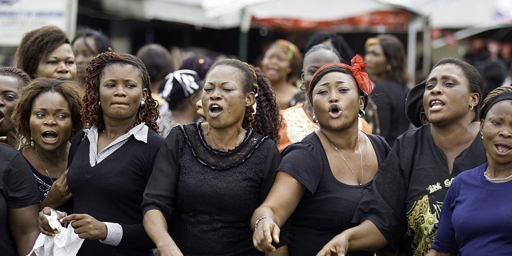 Nigerian Women Have Taken to the Streets to March Against the Serial Killing of Women