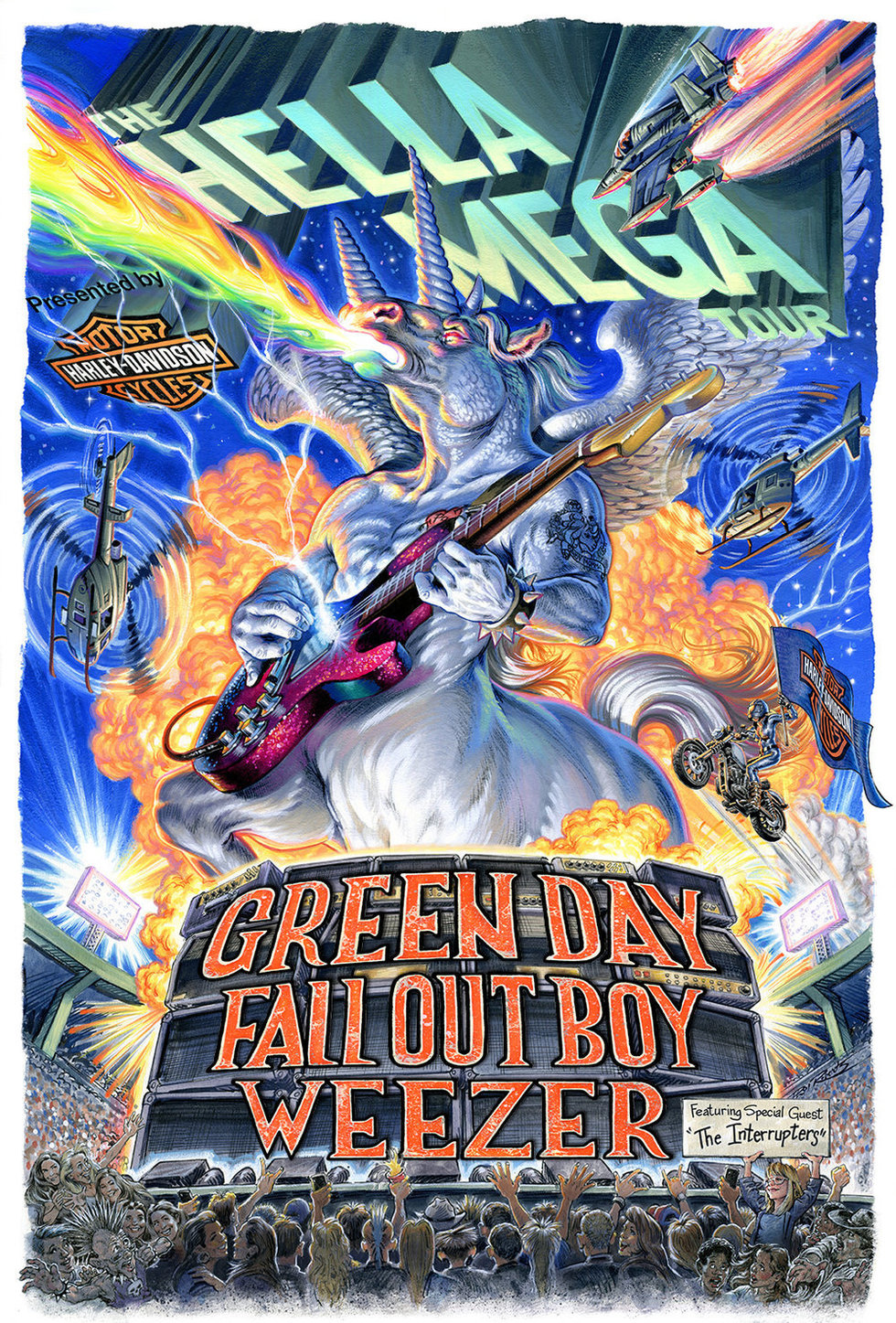 """The Art of Selling Out: Green Day, Weezer, and Fall Out Boy Troll Fans with """"Hella Mega Tour"""""""