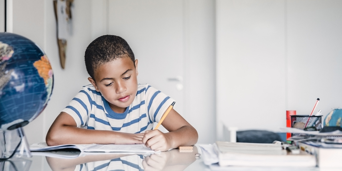 You should let your child do homework on their own—here's why
