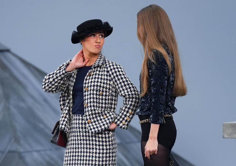 Thank You to the Lady Who Crashed the Chanel Runway (and Stood Up to Gigi Hadid)