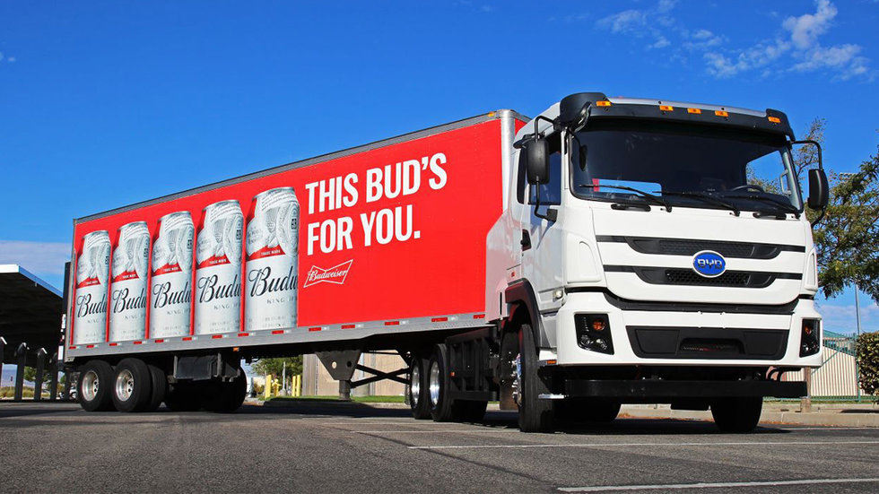 Anheuser-Busch to Launch Largest Electric Class 8 Truck Fleet in North America