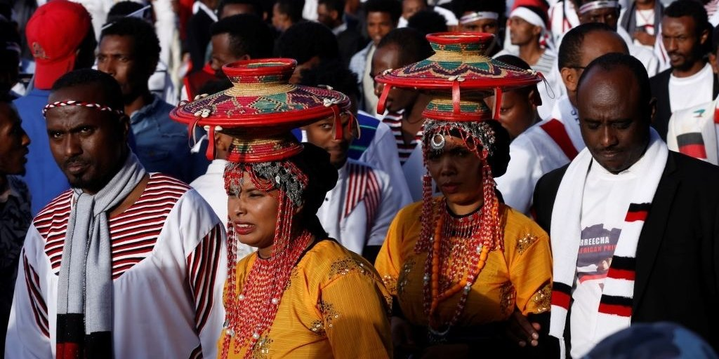 Thousands of Ethiopians Showed Up for the Oromo People's Irreecha Thanksgiving Festival