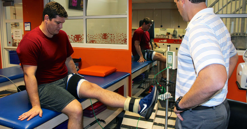 Could Blood Flow Restriction Training Help Injured Athletes Come Back Faster?