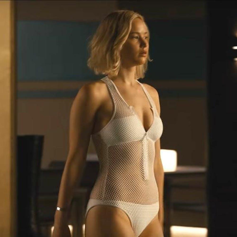 Jennifer Lawrence Bathing Suit