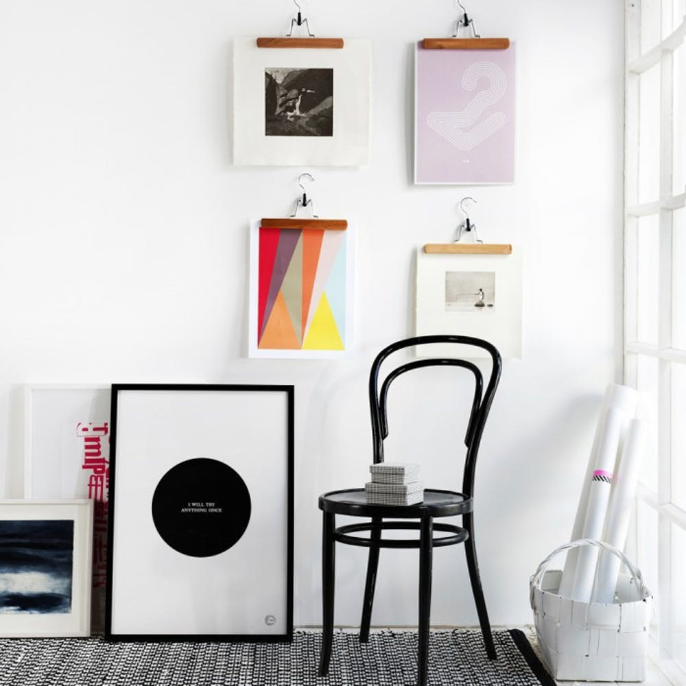 10 Wall Art Display Ideas That Aren T Another Gallery Brit Co