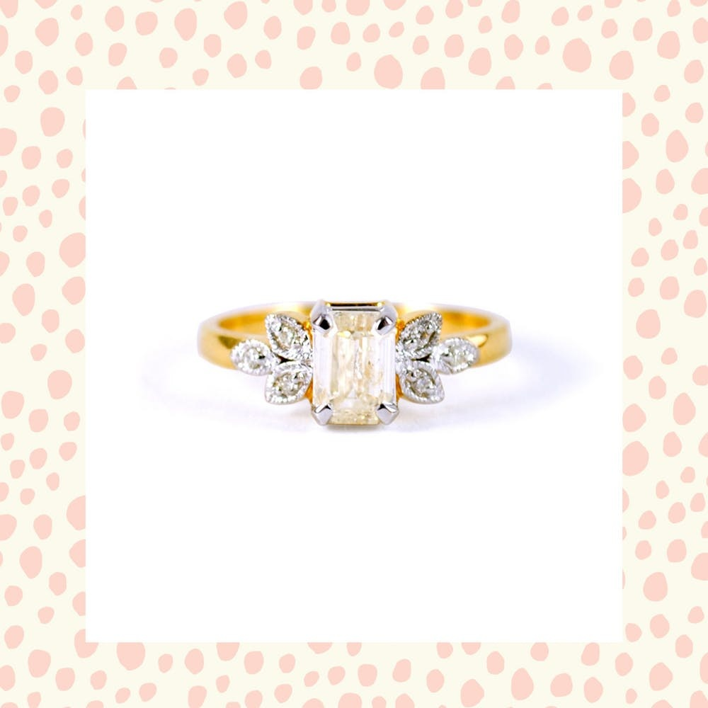 Engagement Ring Trends Throughout The Decades Brit Co