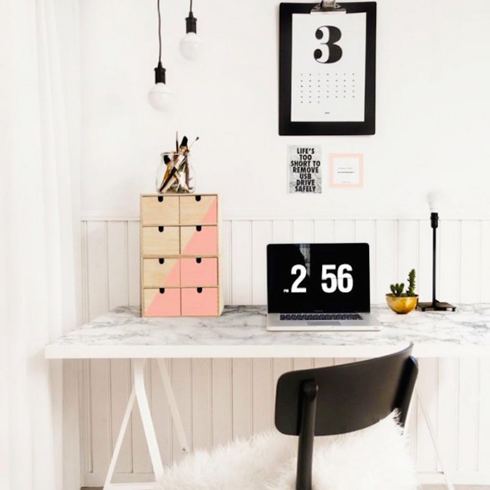 46 IKEA Desk Hacks for the Most Productive Workspace *Ever* - Brit