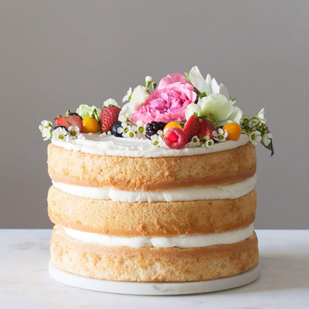 Simple Homemade Wedding Cake Recipe Sally S Baking Addiction