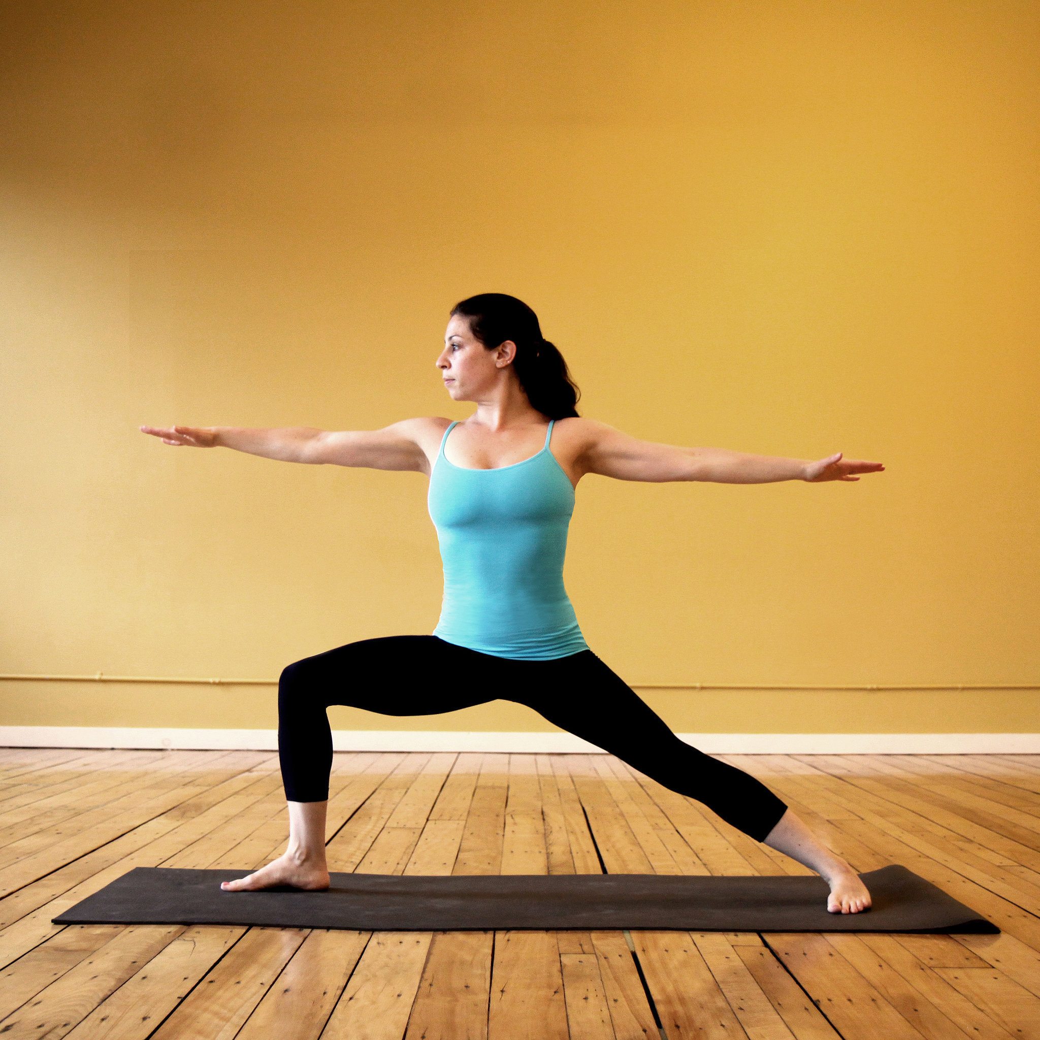 5 Beginner Yoga Poses to Try On Weed