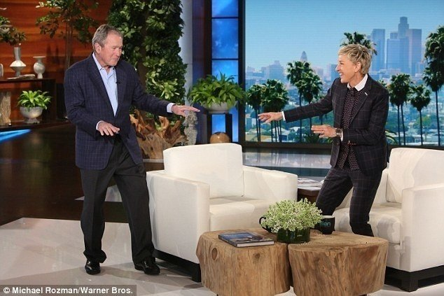 What Ellen Forgets by Forgiving George Bush