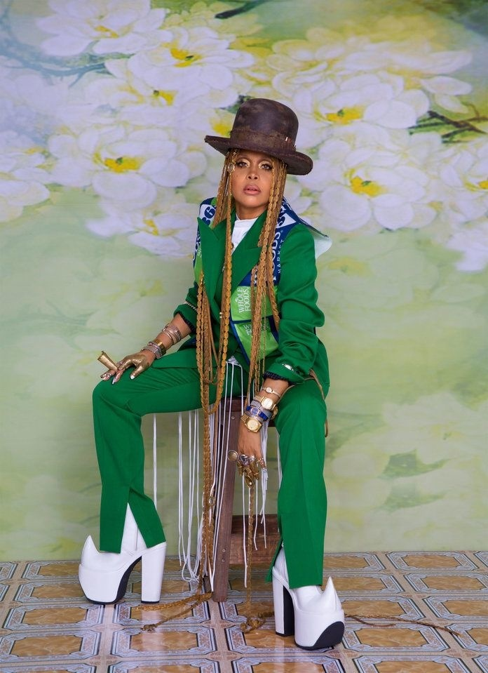 Erykah Badu Lets Us In On The Facets Of Her Eclectic Style
