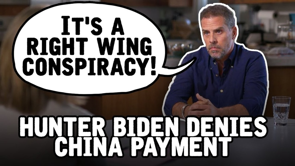 Partner Content - Hunter Biden denies 1.5 BILLION DOLLAR payment from China in ABC interview