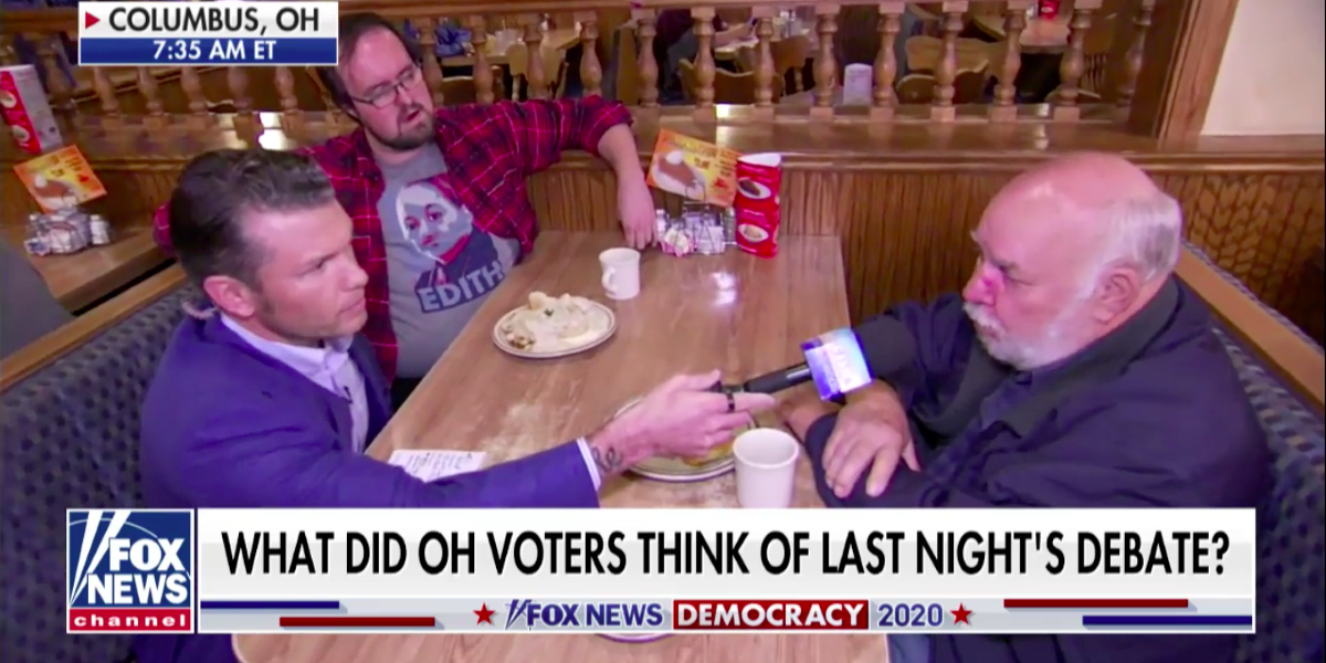 'Fox & Friends' Host Gets More Than He Bargained For After Guy At Ohio Diner Lays Down Some Truths About Income Inequality