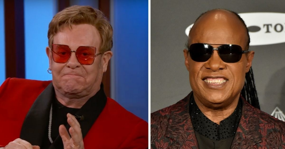 Elton John Once Let Stevie Wonder Drive Off On His Snowmobile All By Himself
