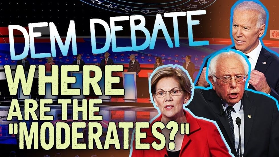 Partner Content - DEMOCRATIC DEBATE: Biden, Bernie, Elizabeth Warren & the wealth tax...wh...