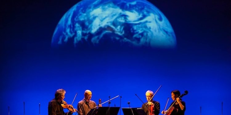 Terry Riley Shoots the Kronos Quartet into Space with the Beautiful, Moving 'Sun Rings'