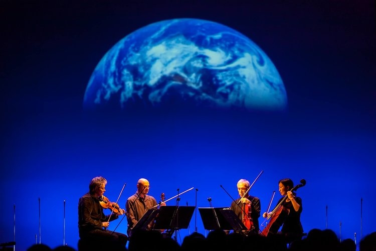Terry Riley Shoots the Kronos Quartet into Space with the Beautiful, Moving  Sun Rings