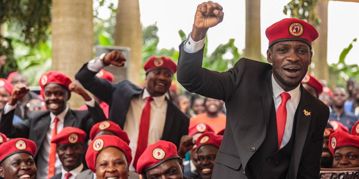 President Yoweri Museveni Has Called Bobi Wine 'An Ememy of Progress in Uganda'