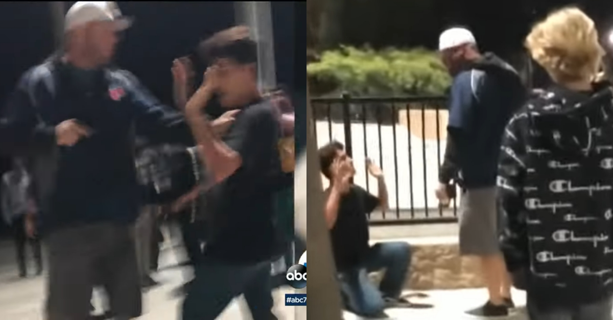 Off-Duty California Deputy Caught On Video Pulling A Gun On Teen Skaters Over Their Loud Music