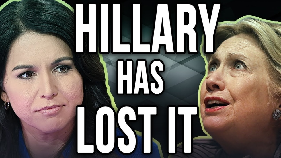 Partner Content - HILLARY CLINTON VS TULSI GABBARD: Clinton says Gabbard is Russian agent,...