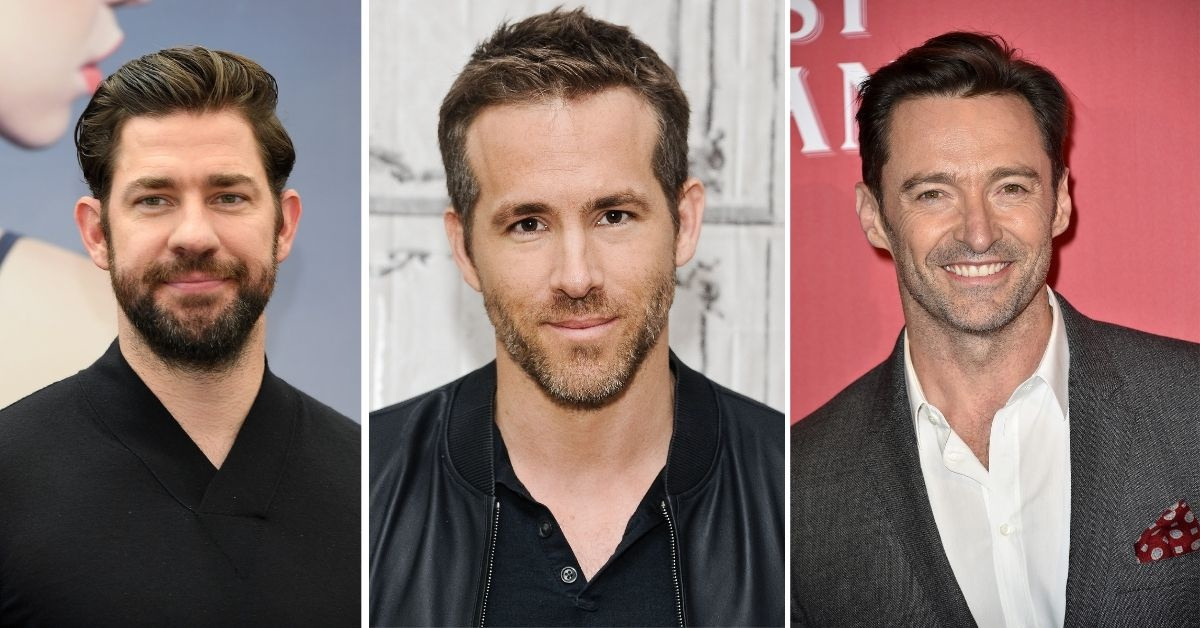 John Krasinski Just Entered The Feud Between Ryan Reynolds And Hugh Jackman With Some 'Blackmail' Of His Own