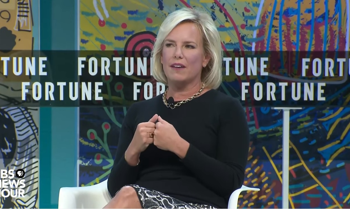 Look Under Your Chairs, Fortune's Most Powerful Women! It's A Baby Kirstjen Nielsen Stole From Its Mommy.