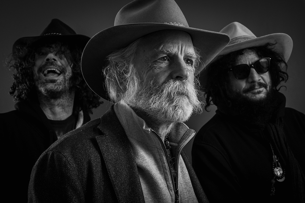 Bob Weir and Wolf Bros Mine for Sonic Gold in California