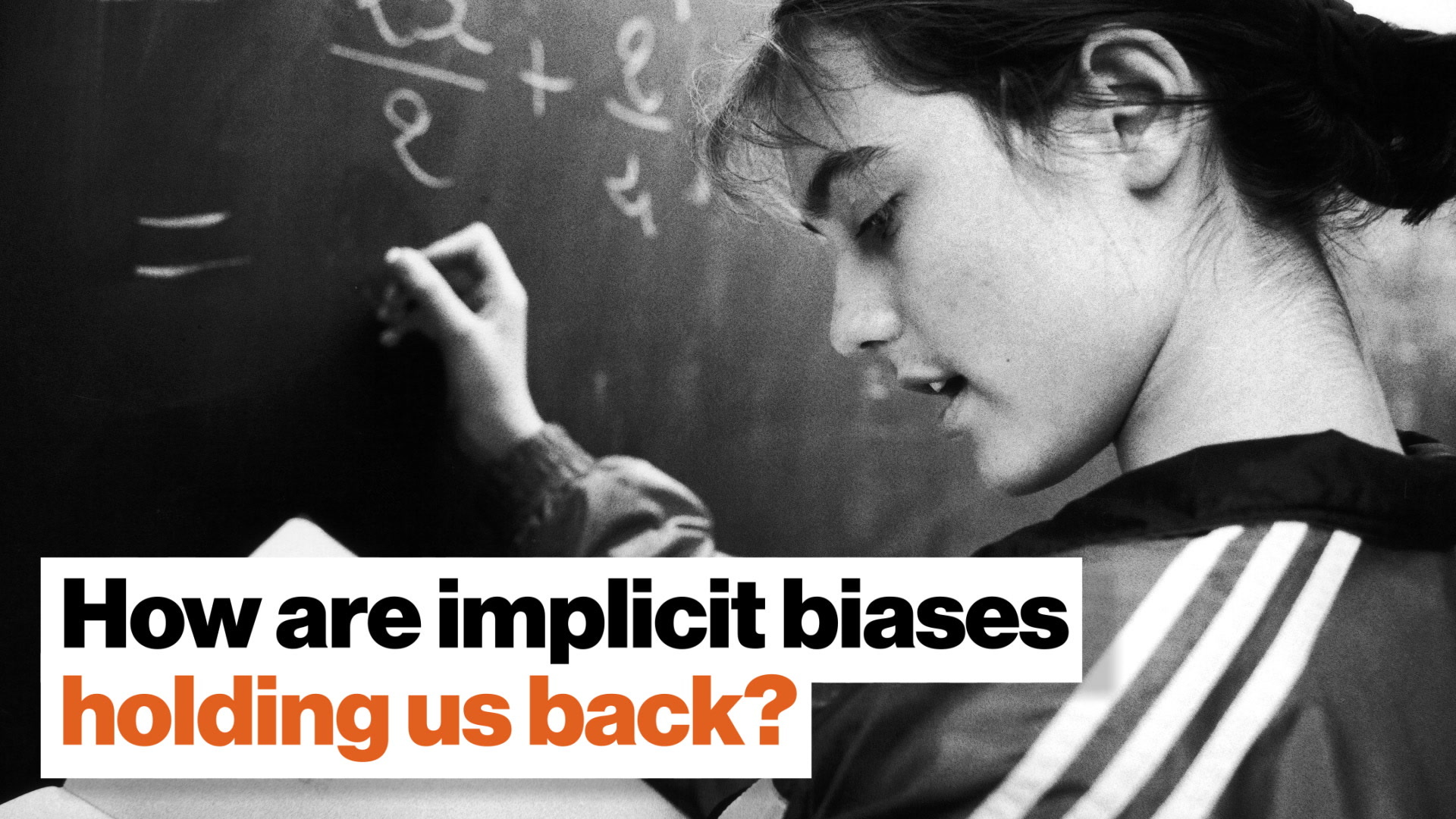 How are implicit biases holding us back?