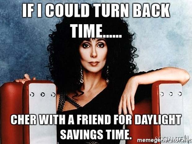Funny Daylight Savings Time Images