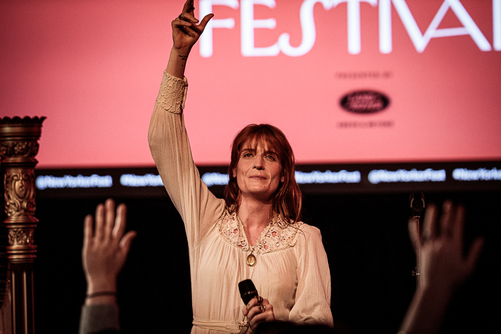 Florence Welch Discussion and Acoustic Set at New Yorker Festival