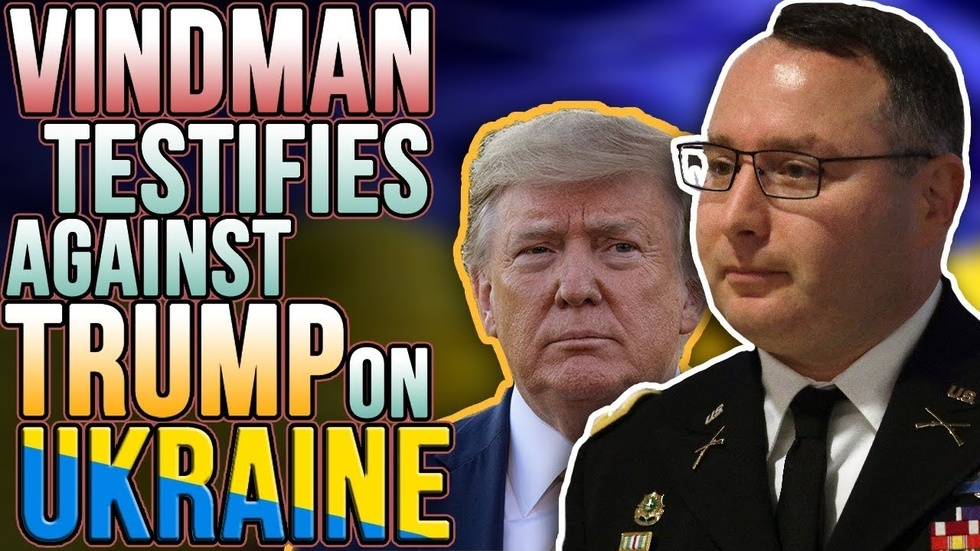Partner Content - HYPOCRISY ALERT: Alex Vindman alleges Trump quid pro quo with Ukraine, S...