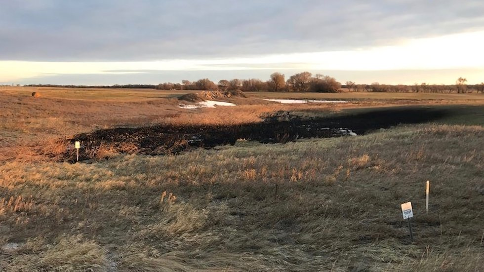 383,000 Gallons of Crude Oil Spill in North Dakota