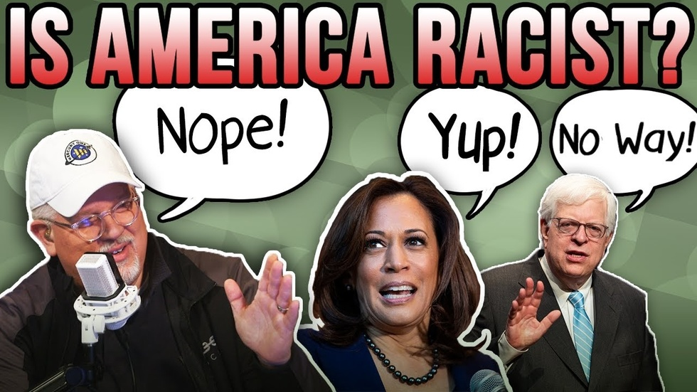 Partner Content - KAMALA HARRIS: AMERICA WON'T ELECT WOMAN OF COLOR...But Dennis Prager te...