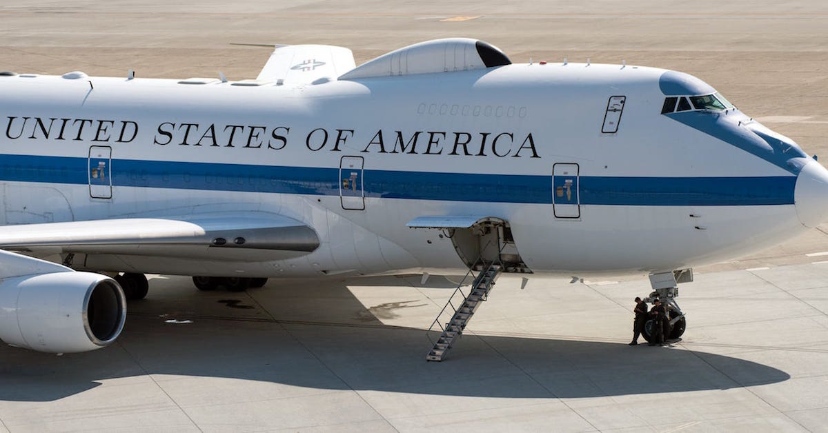 The Air Force's 'Doomsday plane' is spent