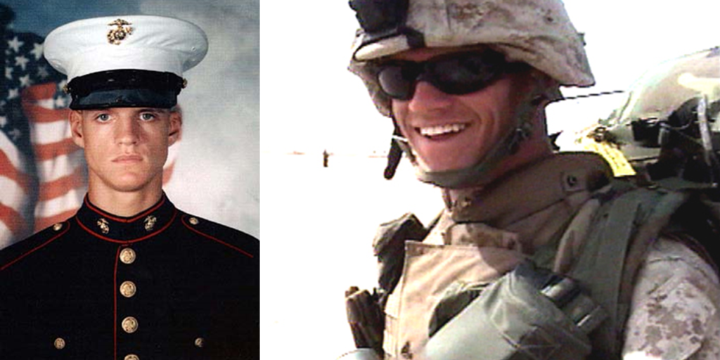 It's the birthday of the Marine Corps — and its first Post-9/11 Medal of Honor recipient