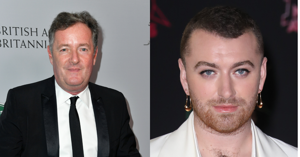 Piers Morgan Is Getting Dragged After Criticizing Non-Binary Sam Smith For Wearing Menswear