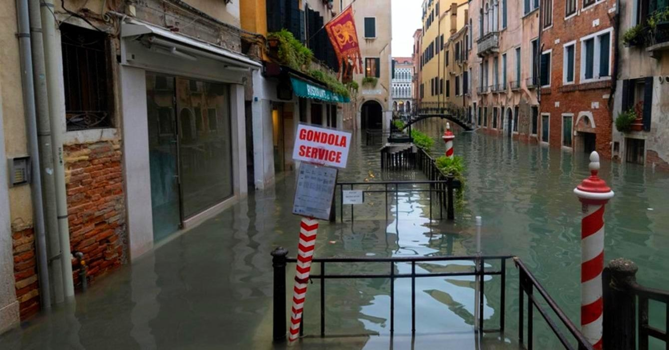 85% of Venice underwater after worst flooding in 50 years