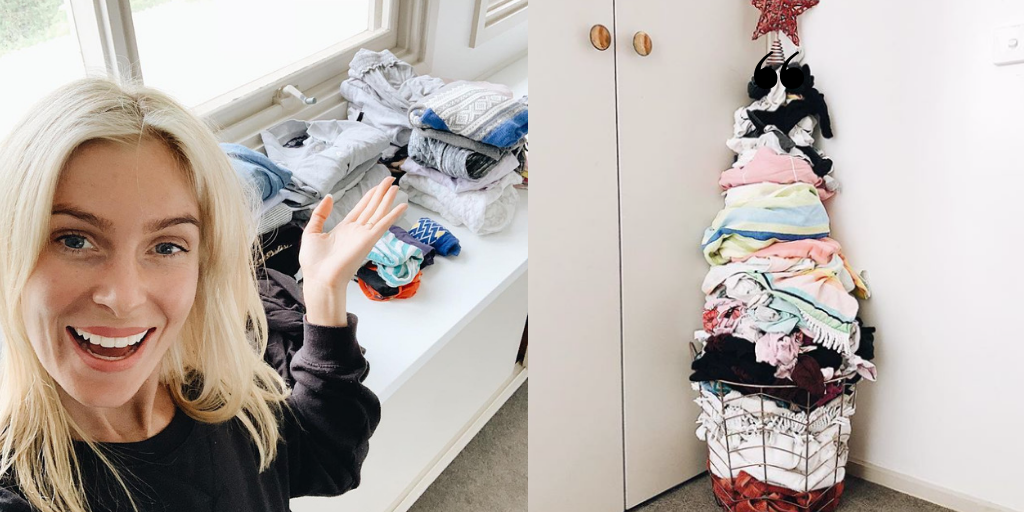 What went viral this week: A laundry Christmas tree + refreshingly honest birth plan