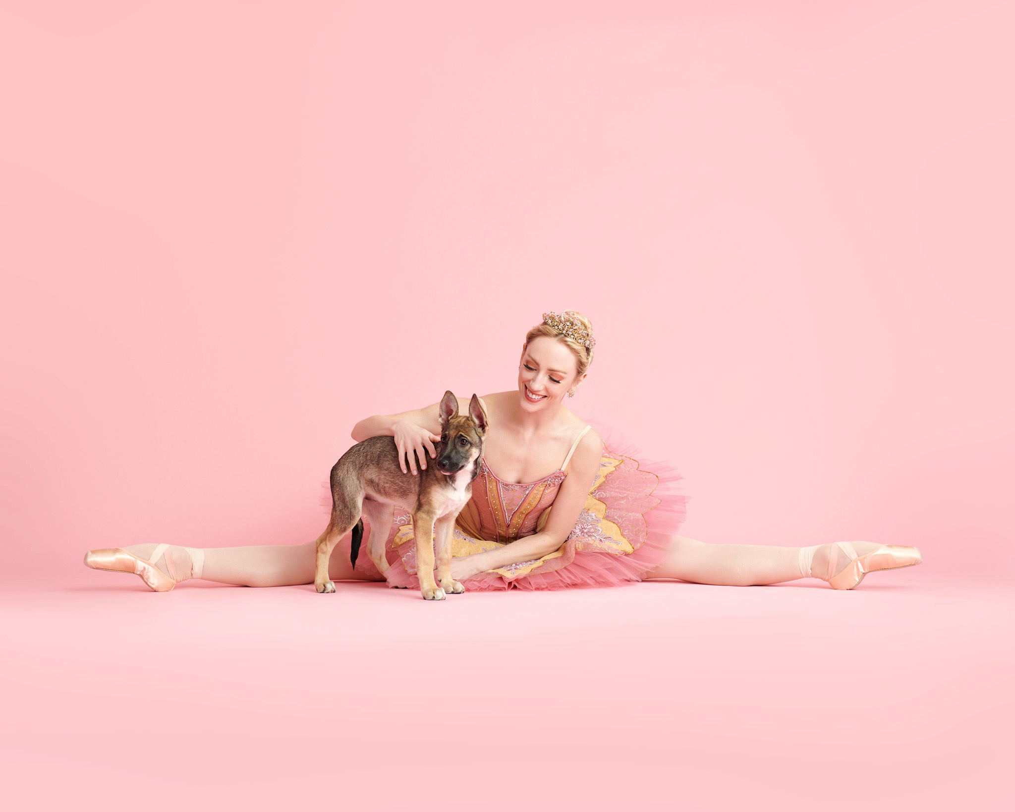 """Dancers & Dogs Teamed Up With a Local Animal Shelter for the Second Annual """"Muttcracker"""""""