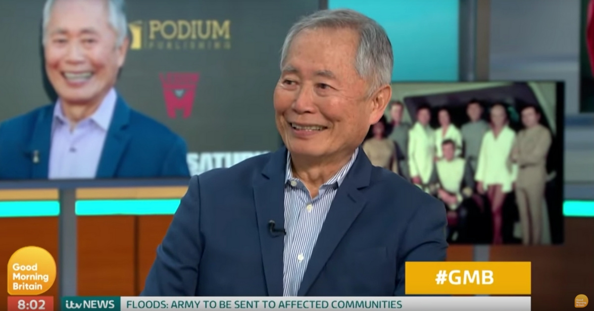 George Takei Opens Up About 'Star Trek' And His Friendship With Leonard Nimoy In New Interview